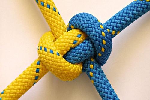 knot-yellow-wallpaper-hd